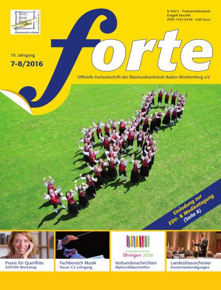 Forte July 01, 2016 00:00