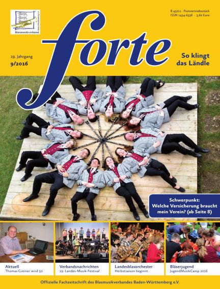 Forte September 01, 2016 00:00