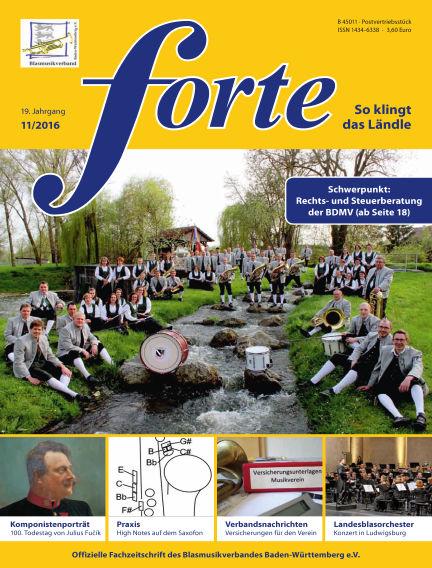 Forte November 01, 2016 00:00