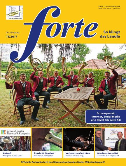 Forte November 01, 2017 00:00
