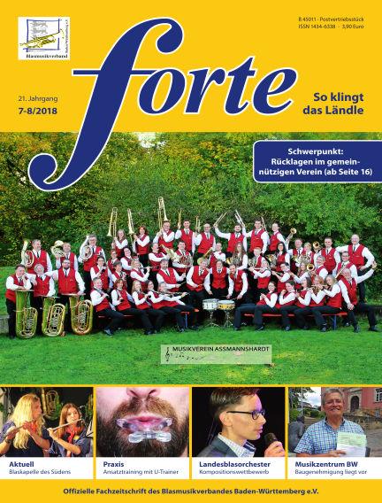 Forte July 12, 2018 00:00