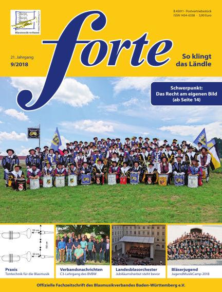 Forte September 12, 2018 00:00