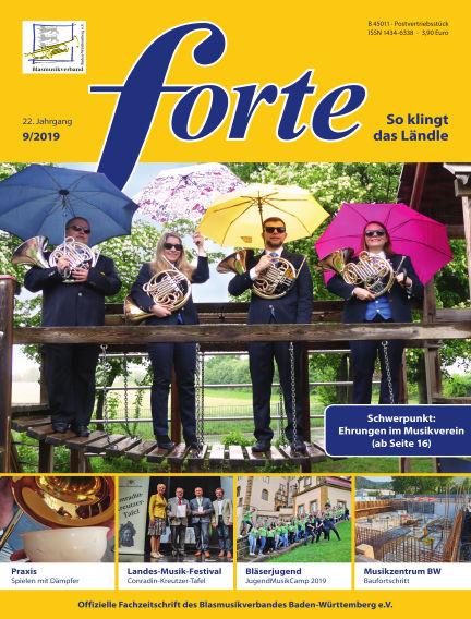 Forte September 12, 2019 00:00