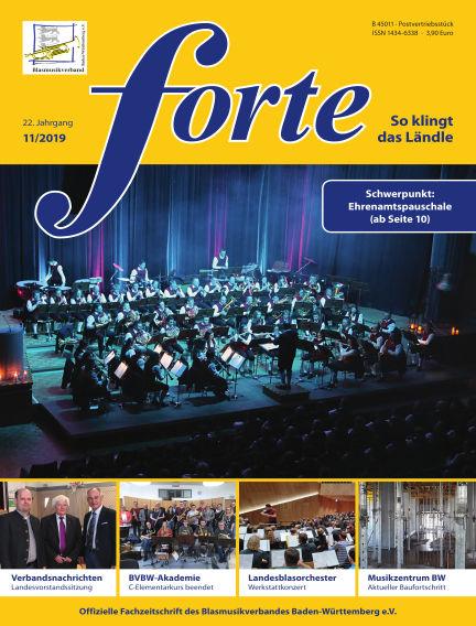 Forte November 12, 2019 00:00