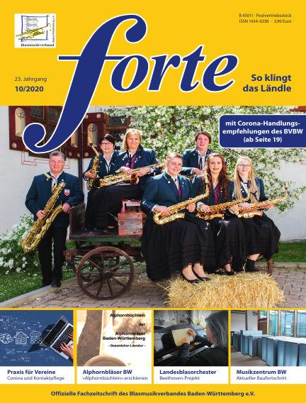Forte October 12, 2020 00:00