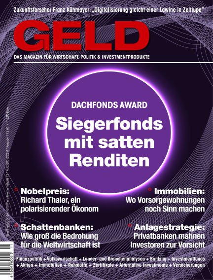 GELD-Magazin November 16, 2017 00:00