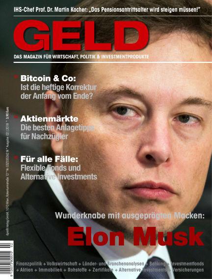 GELD-Magazin February 08, 2018 00:00