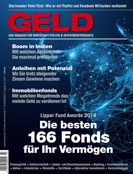 GELD-Magazin March 08, 2018 00:00