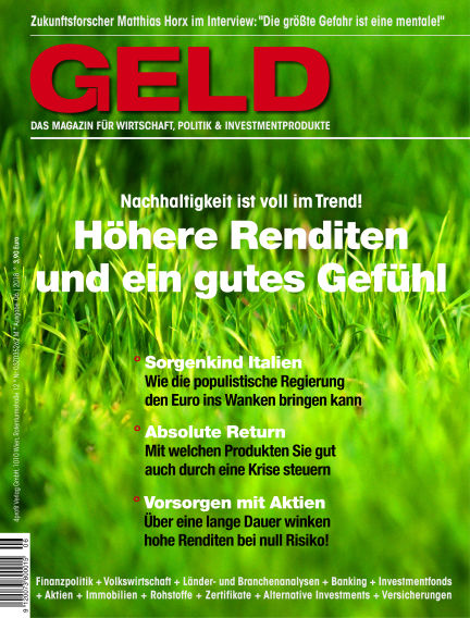 GELD-Magazin June 14, 2018 00:00