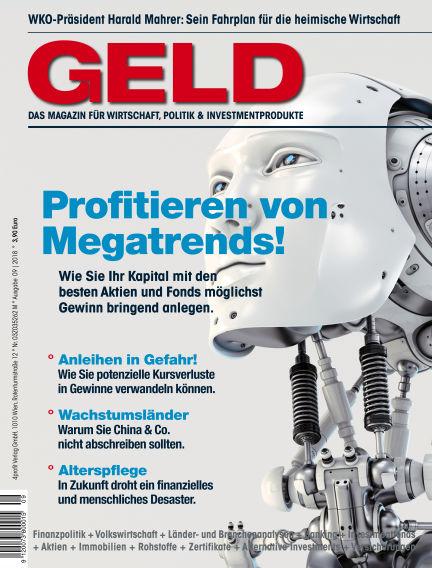 GELD-Magazin September 13, 2018 00:00