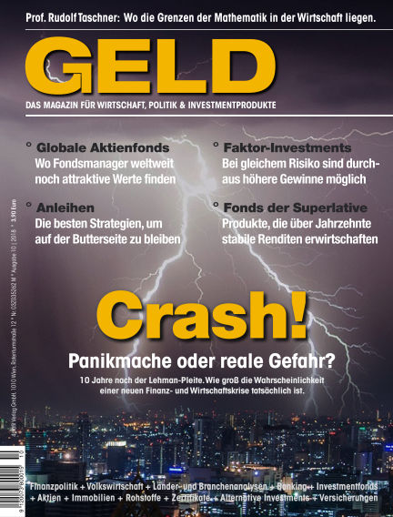 GELD-Magazin October 11, 2018 00:00