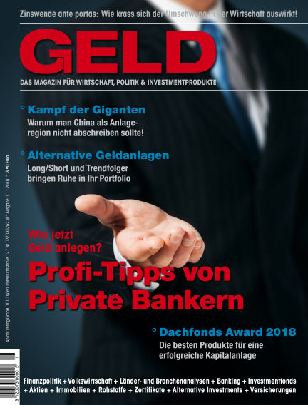 GELD-Magazin November 20, 2018 00:00