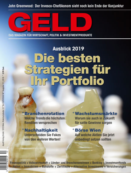 GELD-Magazin December 20, 2018 00:00