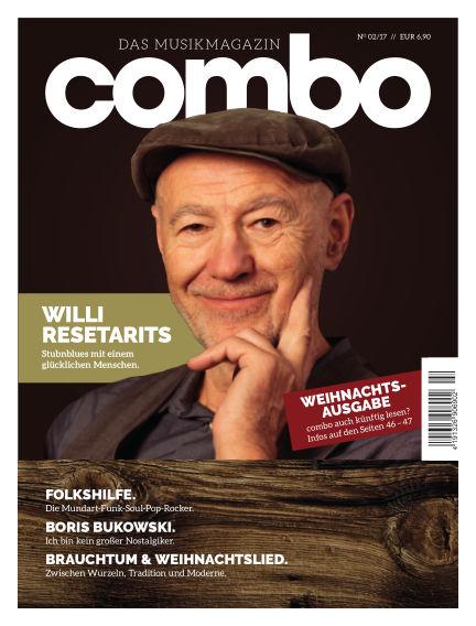 combo – das Musikmagazin December 08, 2017 00:00