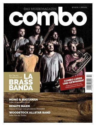combo – das Musikmagazin N° 02/18