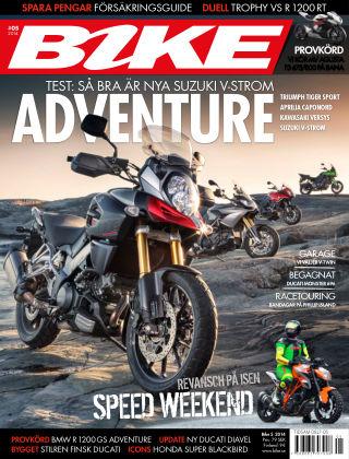 Bike powered by Motorrad Sweden 2014-04-04