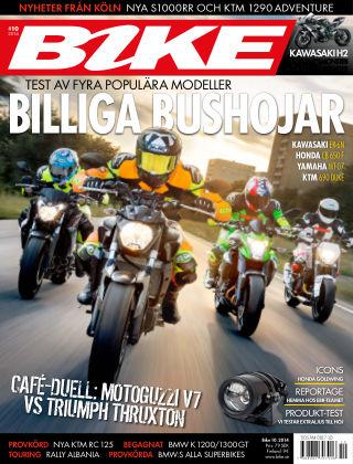 Bike powered by Motorrad Sweden 2014-10-08