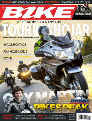 Bike powered by Motorrad Sweden 2015-02-04