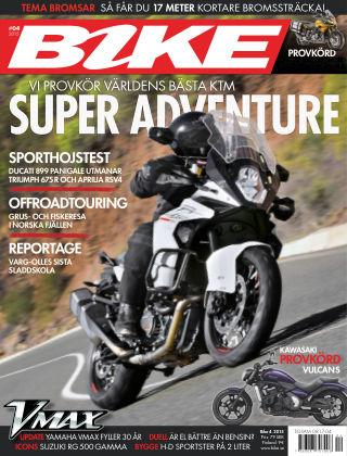 Bike powered by Motorrad Sweden 2015-03-10