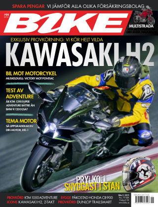 Bike powered by Motorrad Sweden 2015-04-07