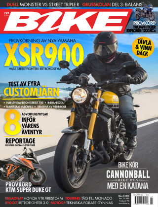 Bike powered by Motorrad Sweden 2016-03-15