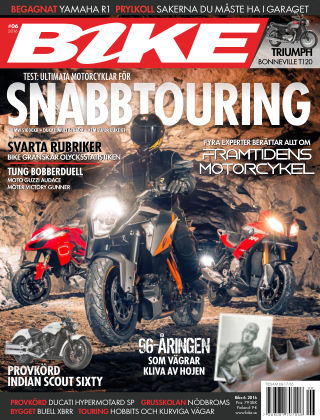 Bike powered by Motorrad Sweden 2016-05-17