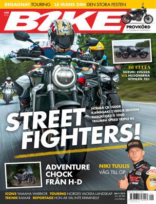 Bike powered by Motorrad Sweden 2018-09-11