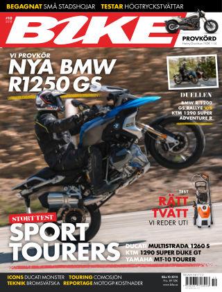 Bike powered by Motorrad Sweden 2018-10-23