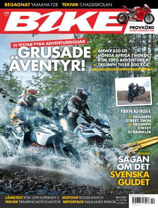 Bike powered by Motorrad Sweden 2019-01-15