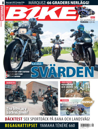 Bike powered by Motorrad Sweden 2019-08-01