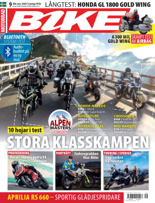 Bike powered by Motorrad Sweden 2020-09-24