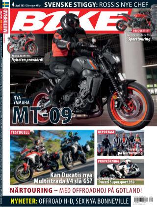 Bike powered by Motorrad Sweden 2021-03-25