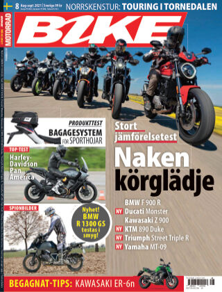 Bike powered by Motorrad Sweden 2021-07-15