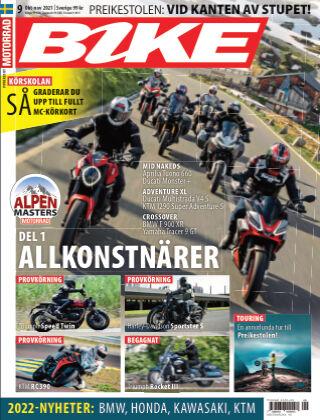 Bike powered by Motorrad Sweden 2021-09-23