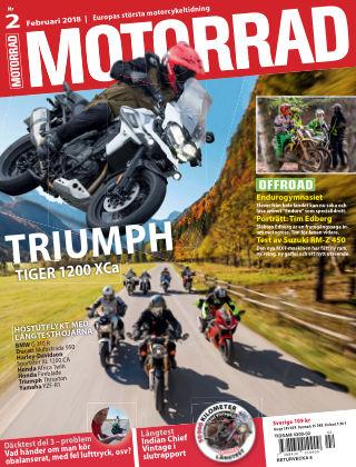 """Motorrad Sweden (Nya utgåvor publiceras under """"Bike Powered by Motorrad"""") 2018-01-23"""