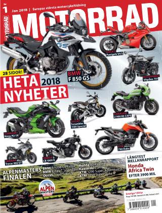 """Motorrad Sweden (Nya utgåvor publiceras under """"Bike Powered by Motorrad"""") 2017-12-11"""