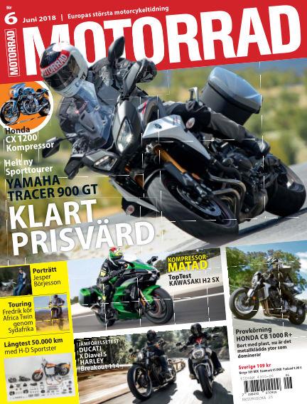 """Motorrad Sweden (Nya utgåvor publiceras under """"Bike Powered by Motorrad"""") May 22, 2018 00:00"""