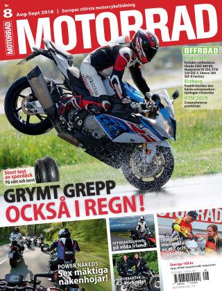 """Motorrad Sweden (Nya utgåvor publiceras under """"Bike Powered by Motorrad"""") 2018-07-24"""