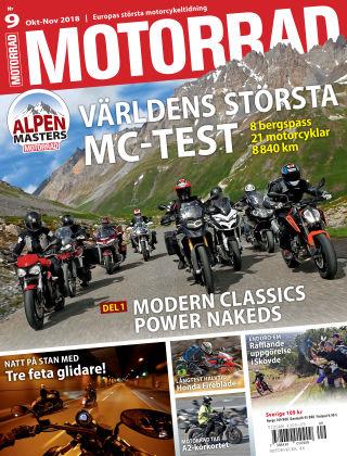 """Motorrad Sweden (Nya utgåvor publiceras under """"Bike Powered by Motorrad"""") 2018-09-25"""
