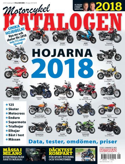 """Motorrad Sweden (Nya utgåvor publiceras under """"Bike Powered by Motorrad"""") October 15, 2018 00:00"""