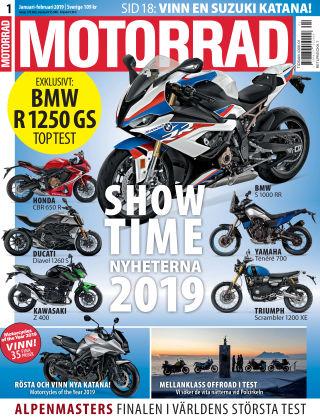 """Motorrad Sweden (Nya utgåvor publiceras under """"Bike Powered by Motorrad"""") 2018-12-11"""