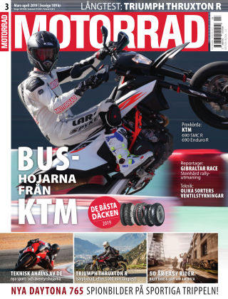 "Motorrad Sweden (Nya utgåvor publiceras under ""Bike Powered by Motorrad"") 2019-03-14"