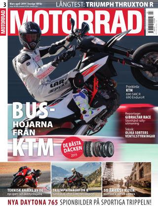 """Motorrad Sweden (Nya utgåvor publiceras under """"Bike Powered by Motorrad"""") 2019-03-14"""