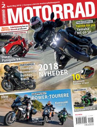 Bike powered by Motorrad Danmark 2018-04-05