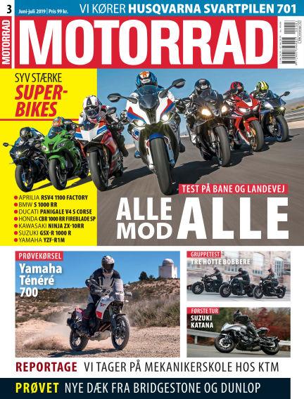 Motorrad Denmark June 13, 2019 00:00