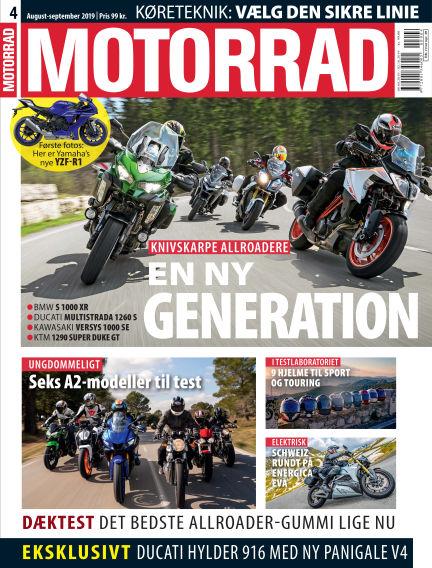 Motorrad Denmark August 08, 2019 00:00