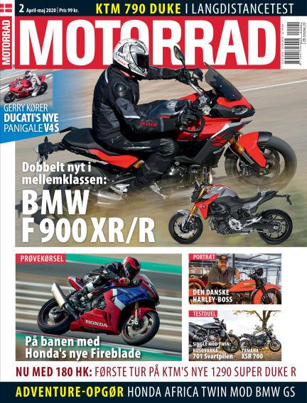 Motorrad Denmark April 02, 2020 00:00
