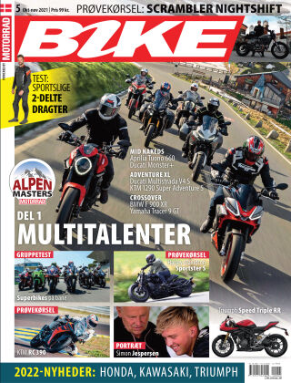 Bike powered by Motorrad Danmark 2021-10-07