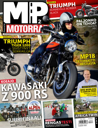 Bike powered by Motorrad Finland 2018-01-25