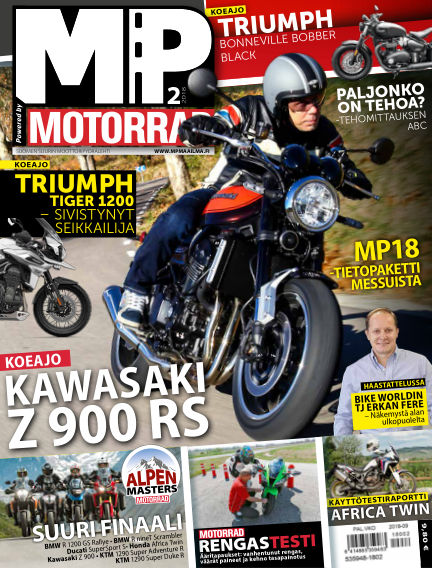 Bike powered by Motorrad Finland January 25, 2018 00:00